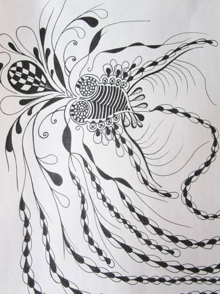 Drawing - Imagination by Rosita Larsson