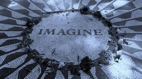 Photograph - Imagine 2015 Cyan by Rob Hans