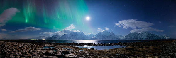 Northern Photograph - Imagine Auroras by Tor-Ivar Naess