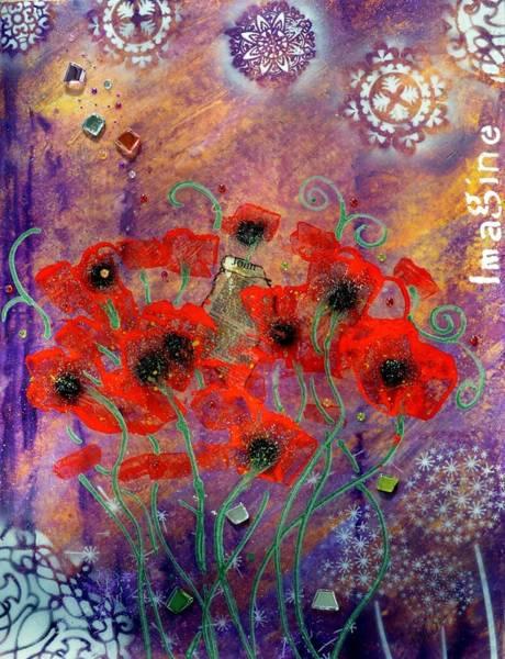 Painting - Imagine By Mimi Stirn by MiMi  Stirn