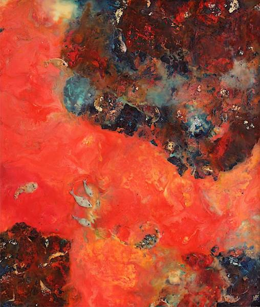 Wall Art - Painting - Imagine In Red by Greg Hester
