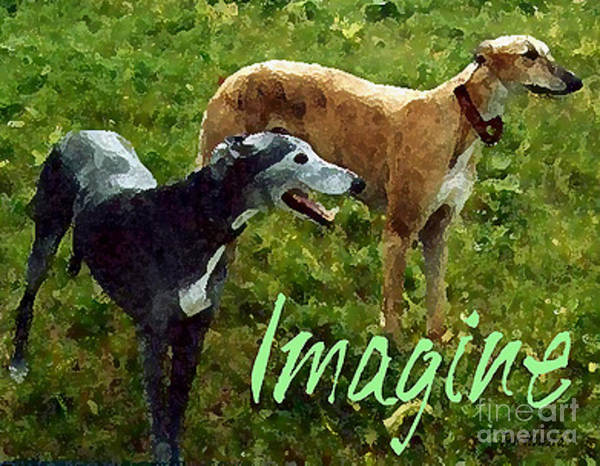 Wall Art - Digital Art - Imagine by Jennifer Howard