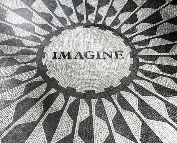Photograph - Imagine - Strawberry Fields by Juergen Weiss