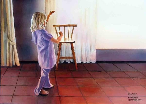 Painting - Imagine by Tim Johnson