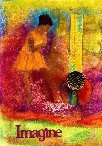 Wall Art - Mixed Media - Imagine Winning by Angela L Walker
