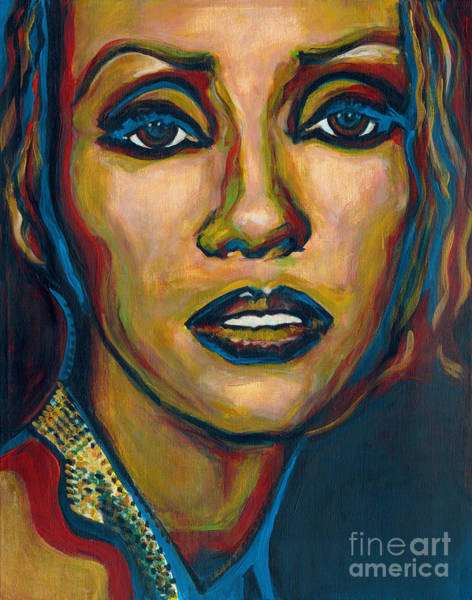 Painting -  Iman by Tanya Filichkin