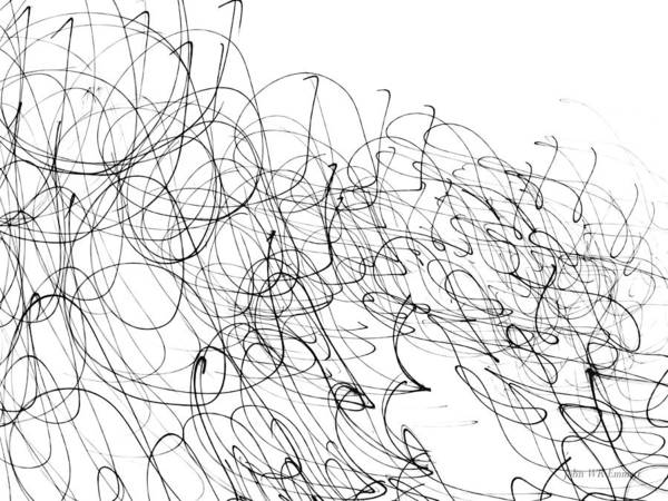 Drawing - Img_1 by John Emmett