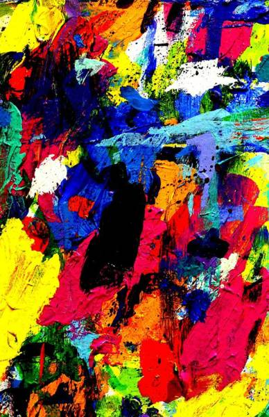 Abstract Expressionism Wall Art - Painting - Imma   61   by John  Nolan