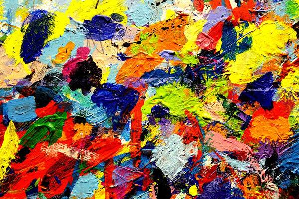 Abstract Expressionism Wall Art - Painting - Imma  54 by John  Nolan