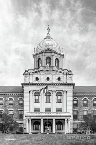 Photograph - Immaculata University Villa Maria Hall Center by University Icons