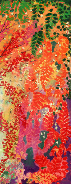 Triptych Wall Art - Painting - Immersed In Summer Part 3 Of 3 by Jennifer Lommers