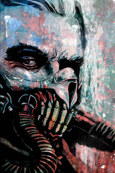 Wall Art - Mixed Media - Immortan Joe by Jeremy Scott