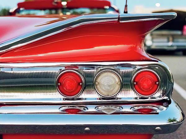 Wall Art - Photograph - Impala Ss Convertible by Jon Woodhams