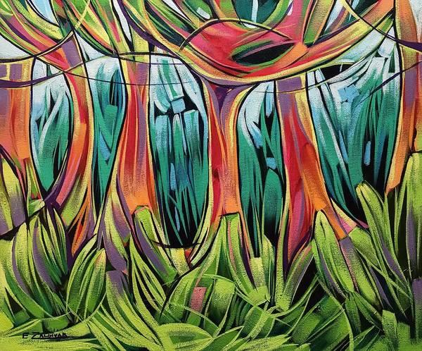 Impassable Forest  Art Print