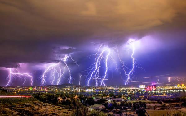 Reno Wall Art - Photograph - Impending Doom by Steve Baranek