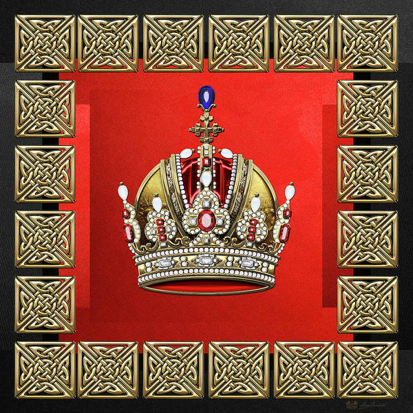Digital Art - Imperial Crown Of Austria  by Serge Averbukh