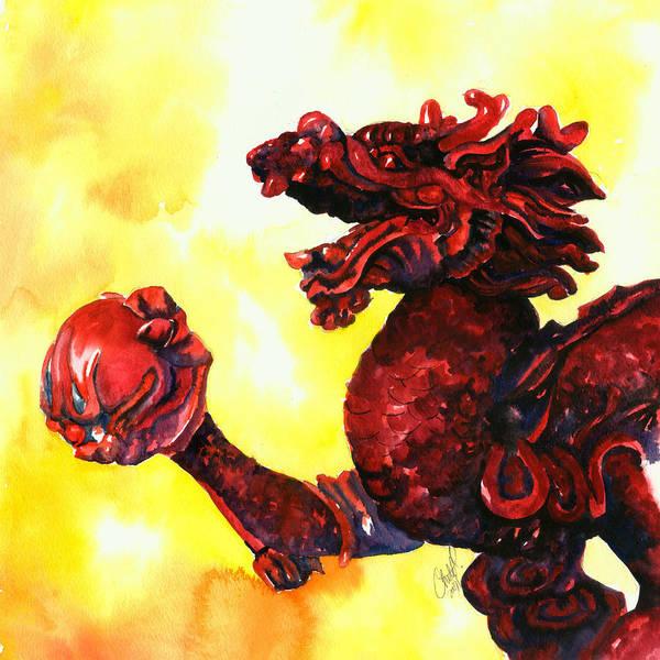 Imperial Dragon Art Print