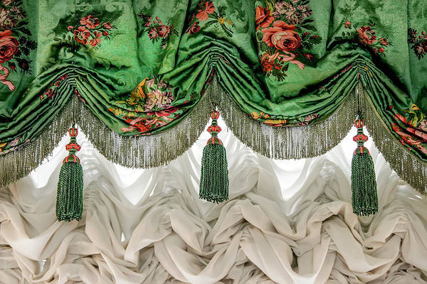 Photograph - Imperial Russian Curtains by KG Thienemann
