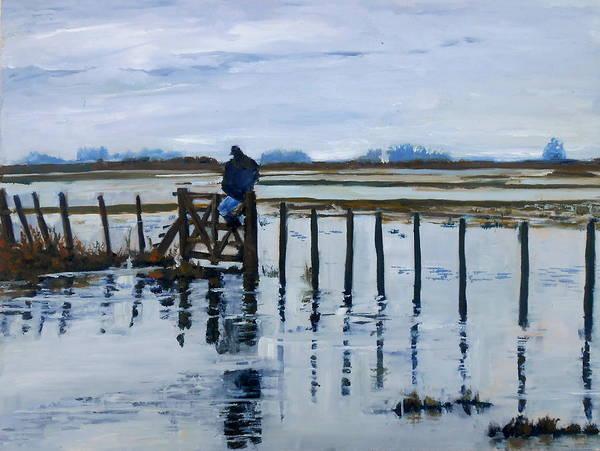 Desolation Painting - Impotence And Desolation by Silvana Miroslava Albano