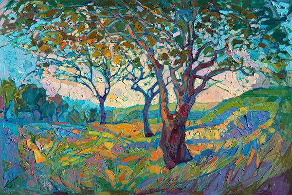 Wall Art - Painting - Impression by Erin Hanson