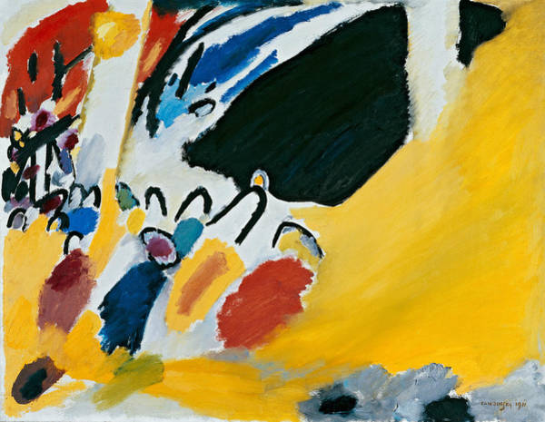 Painting - Impression  IIi by Wassily Kandinsky