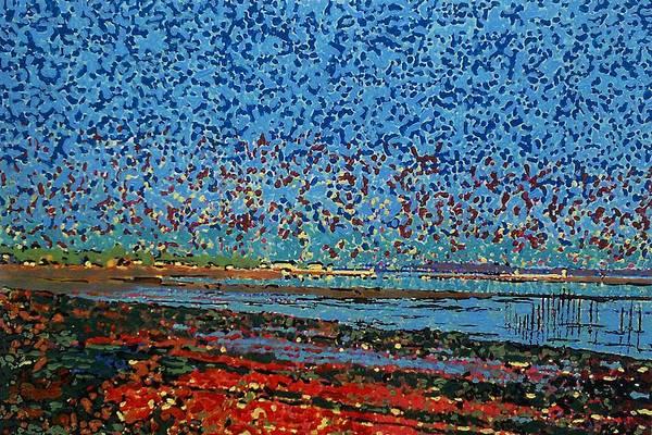 Oak Harbor Painting - Impression - St. Andrews by Michael Graham