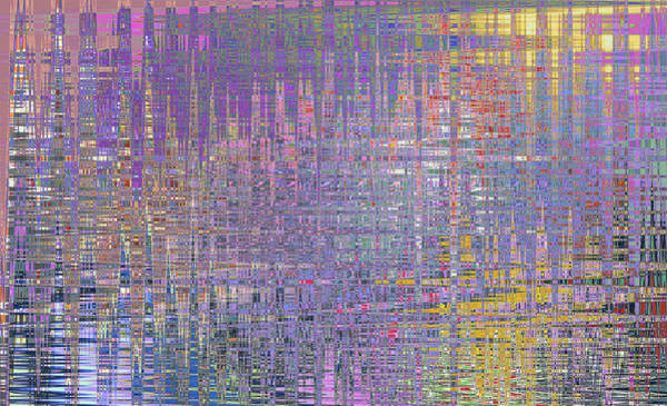 Digital Art - Impressionist Tapestry by Anne Cameron Cutri