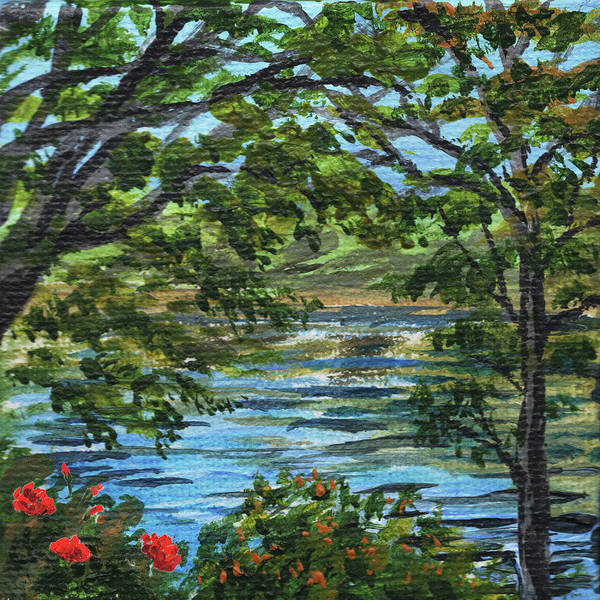 Painting - Impressionistic Landscape I by Irina Sztukowski