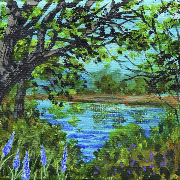Painting - Impressionistic Landscape II by Irina Sztukowski