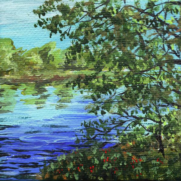Painting - Impressionistic Landscape IIi by Irina Sztukowski