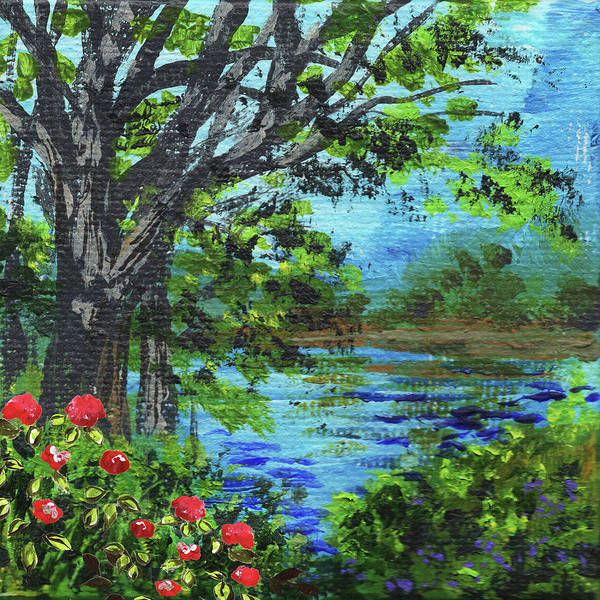 Painting - Impressionistic Landscape Iv by Irina Sztukowski