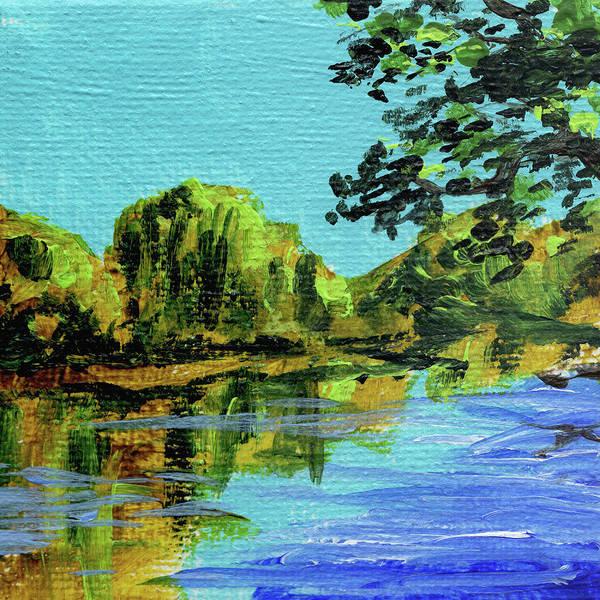 Painting - Impressionistic Landscape Ix by Irina Sztukowski