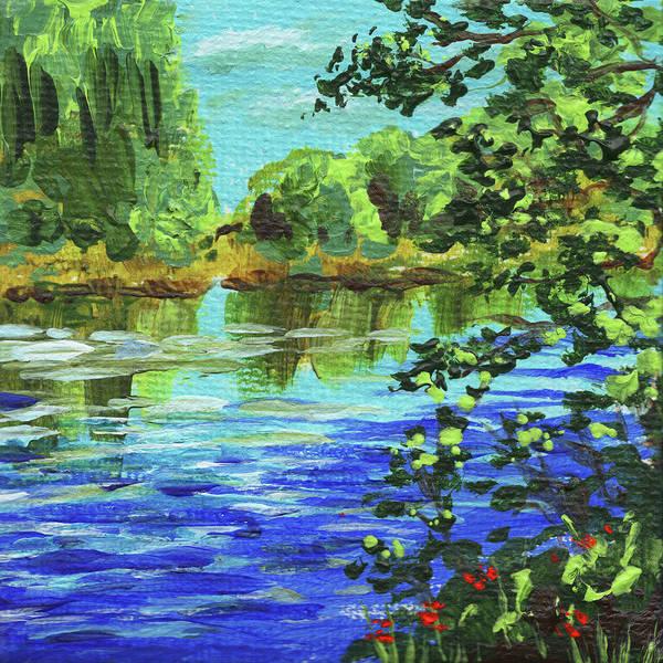 Painting - Impressionistic Landscape V by Irina Sztukowski