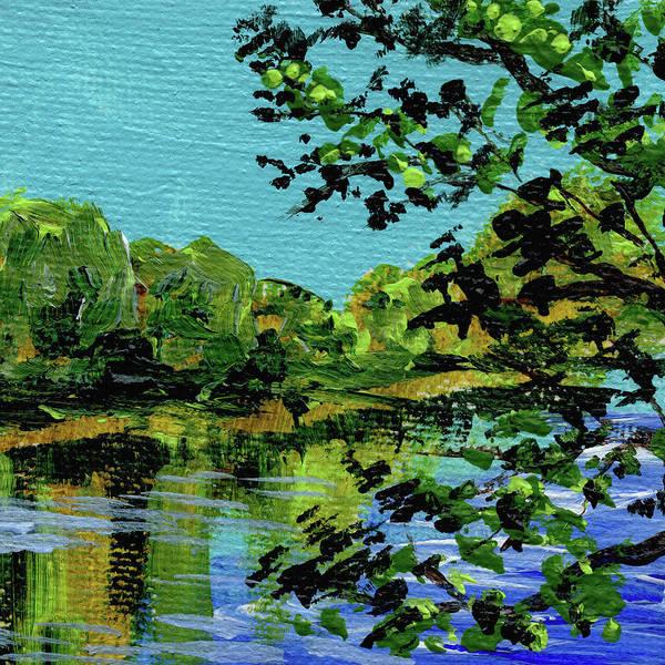 Painting - Impressionistic Landscape Vii by Irina Sztukowski