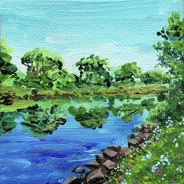 Painting - Impressionistic Landscape Xiii by Irina Sztukowski
