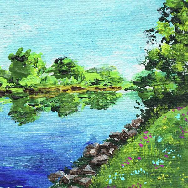 Painting - Impressionistic Landscape Xix by Irina Sztukowski
