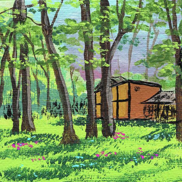 Painting - Impressionistic Landscape Xv by Irina Sztukowski