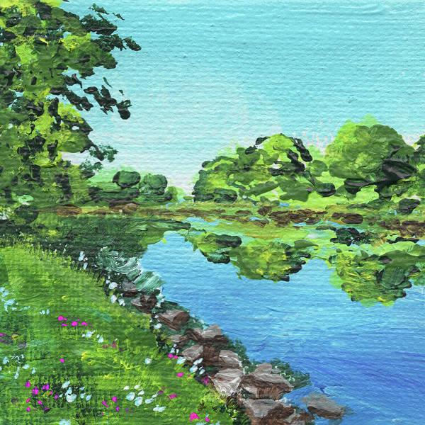 Painting - Impressionistic Landscape Xvi by Irina Sztukowski