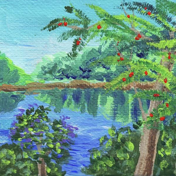 Painting - Impressionistic Landscape Xvii by Irina Sztukowski