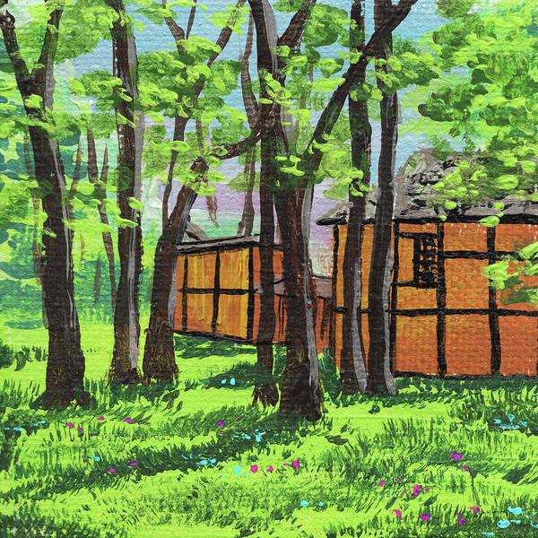 Painting - Impressionistic Landscape Xviii by Irina Sztukowski