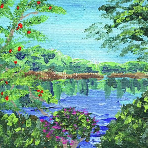 Painting - Impressionistic Landscape Xx by Irina Sztukowski