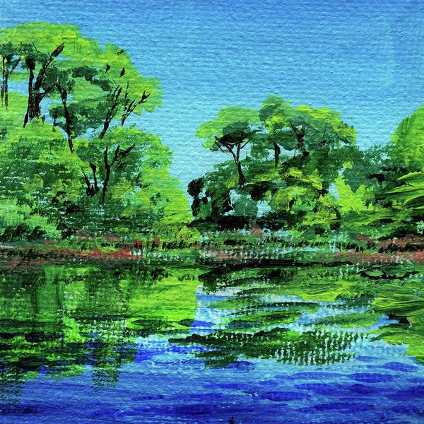 Painting - Impressionistic Landscape Xxiii by Irina Sztukowski