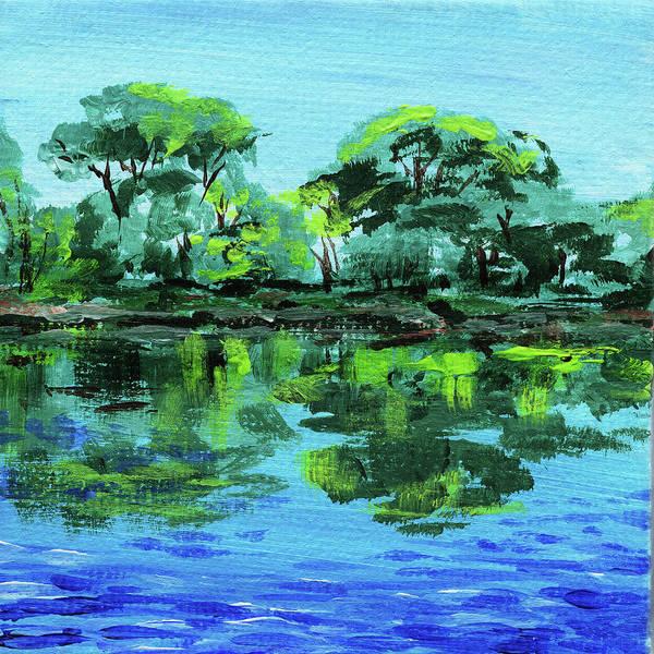 Painting - Impressionistic Landscape Xxviii by Irina Sztukowski
