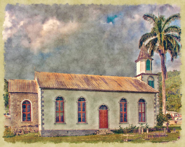 Photograph - Impressions Of A Jamaican Church by John M Bailey