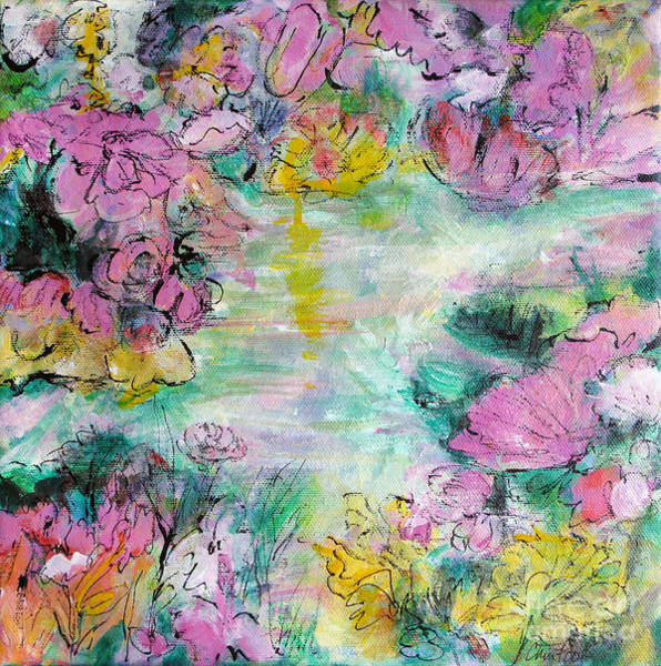 Hallway Mixed Media - Impressions Of Spring by Christine Chin-Fook