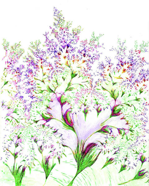 Drawing - Impressions Of Spring by Michele A Loftus