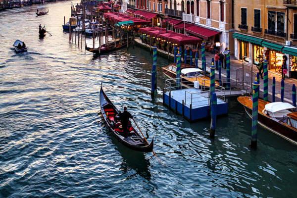 Digital Art - Impressions Of Venice - A Classic Grand Canal Evening by Georgia Mizuleva