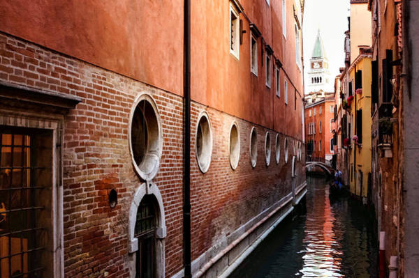 Digital Art - Impressions Of Venice - Palaces And Side Canals by Georgia Mizuleva