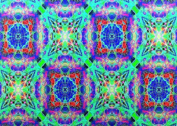 Digital Art - Impressions - Fractal Fireworks by Charmaine Zoe