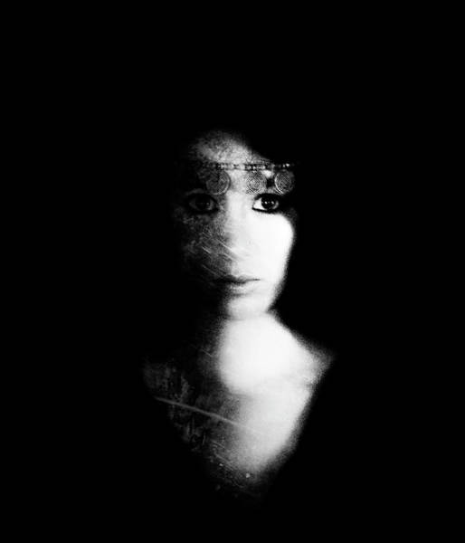 Photograph - Impressionsit Portrait by Theresa Tahara